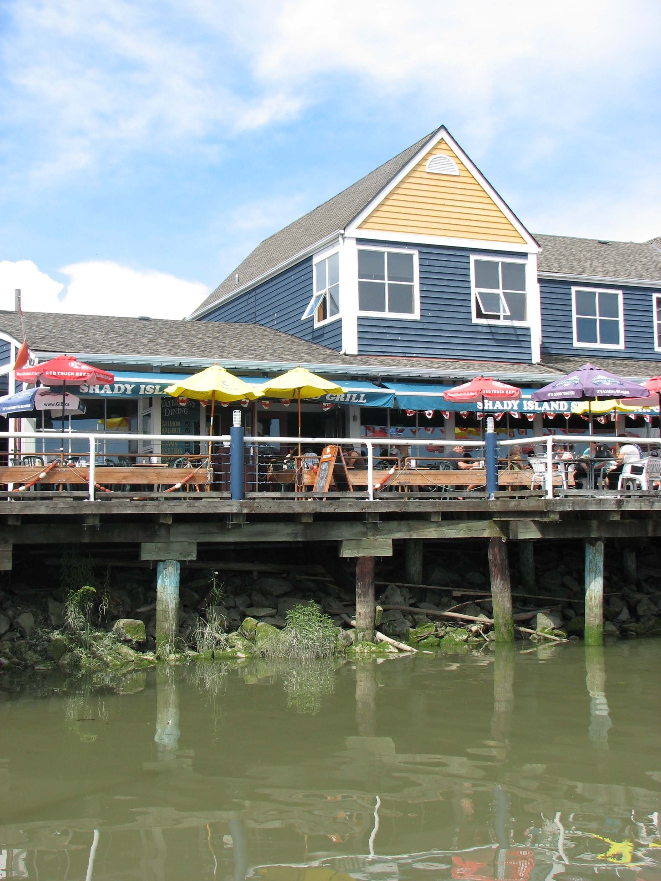 Restaurant at Steveston Harbour's Fisherman's Wharf
