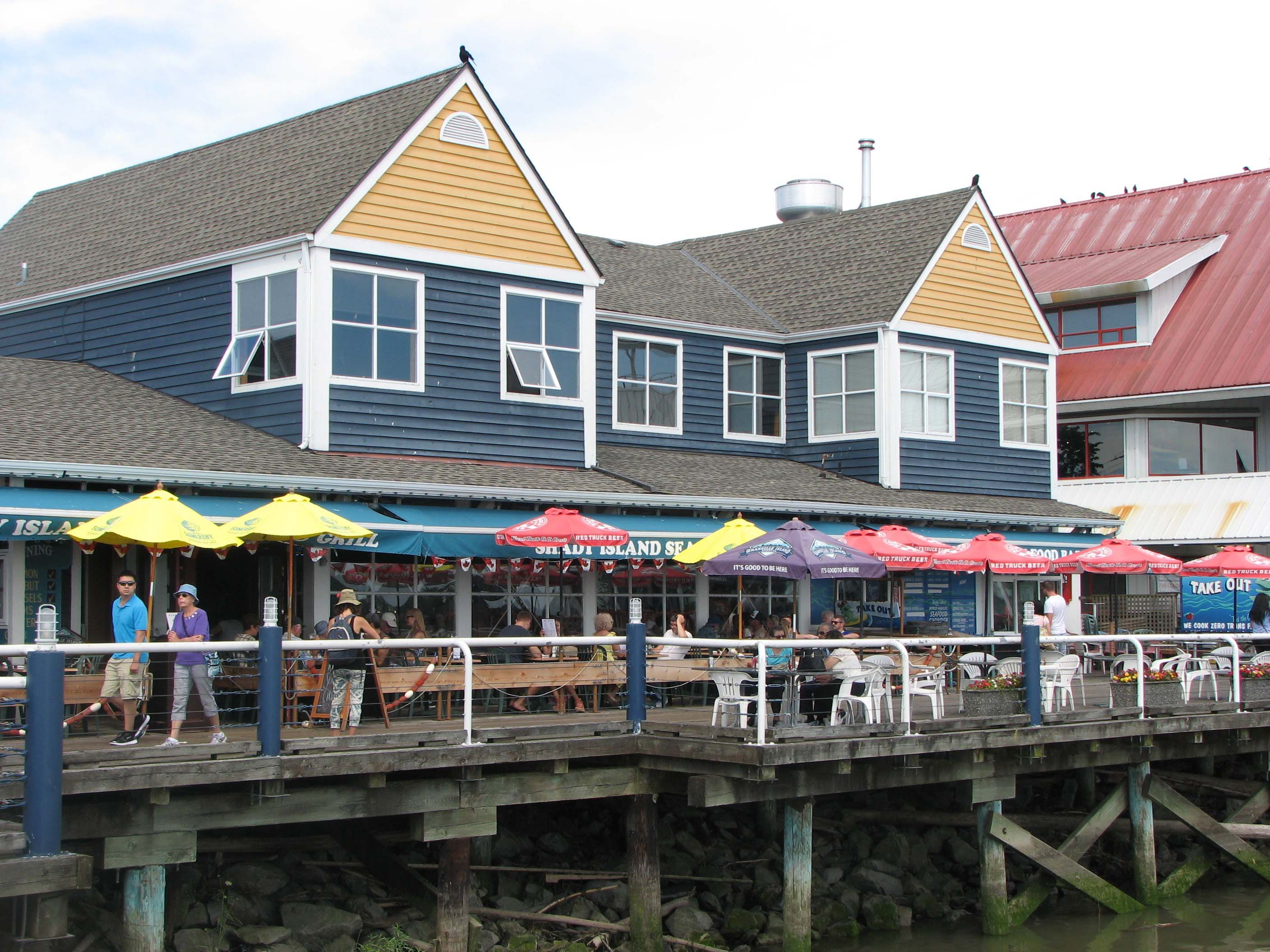 Shady Island Seafood Bar and Grill Steveston Harbour