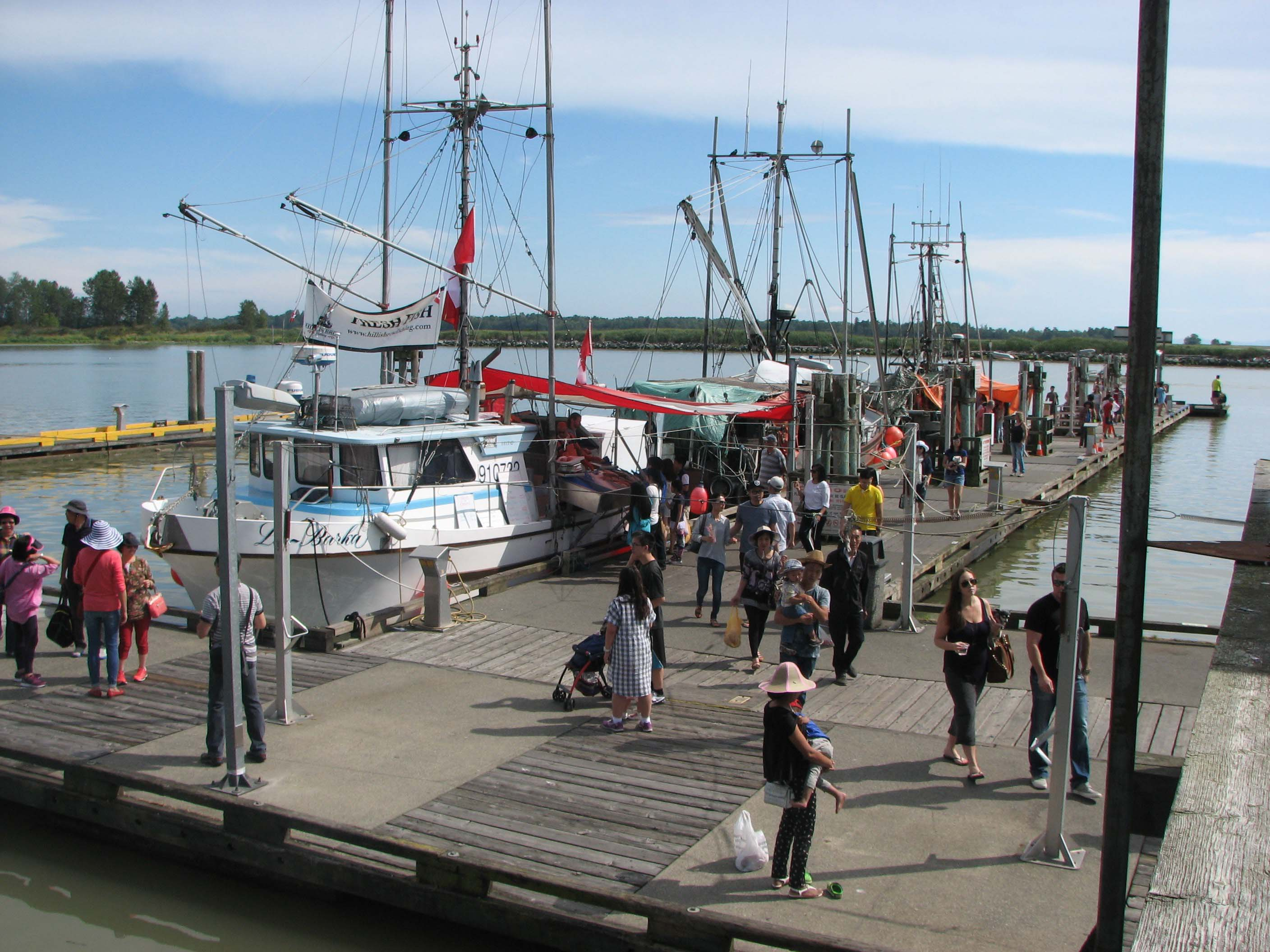 Steveston Harbour's Fisherman's Wharf