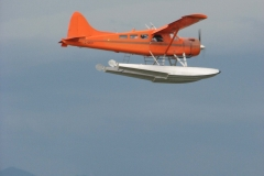 Float Plane prepares to Land at Terminal 2 in Vancouver
