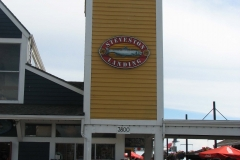 Main entrance to Steveston Landing