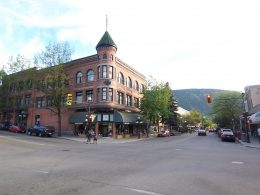 Downtown Nelson BC