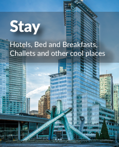 Vancouver Hotels, Bed, Breakfasts and Chalets