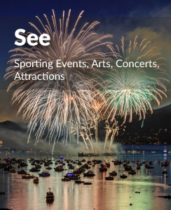 Attractions, events, sports and concerts