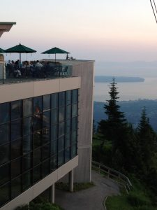Grouse Mountain Restaurants with Views of Vancouver