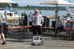 Accordion Player at Steveston Harbour